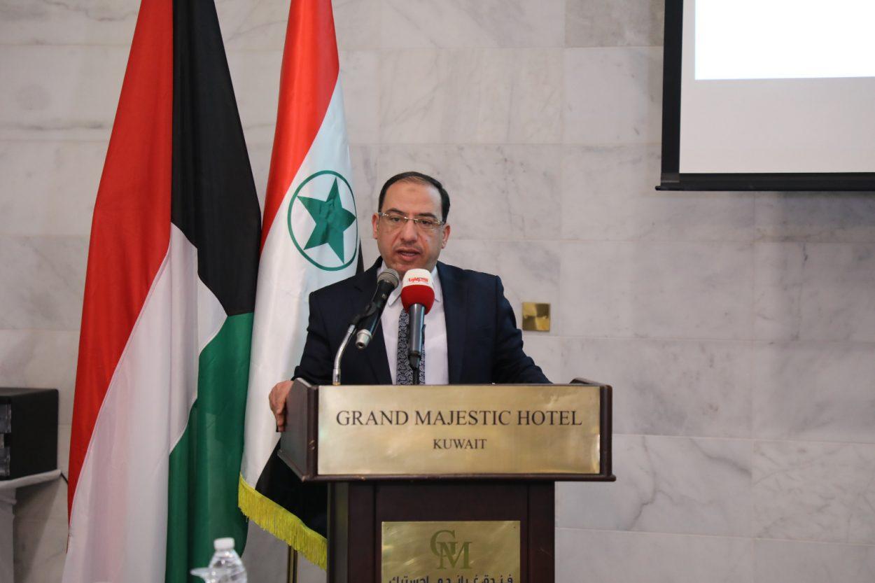 أمجد شموط _ رئيس لجنة حقوق الإنسان في الجامعة العربية